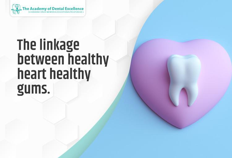 The linkage between healthy heart healthy gums